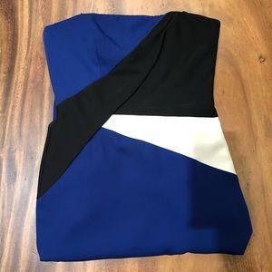 BCBGMAXAZRIA long dress (practically new)